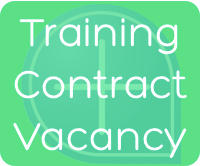 Training Contract Vacancy
